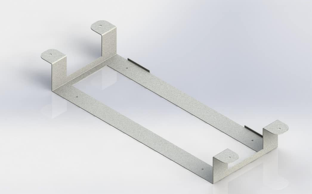 Under-Desk Mounting Bracket